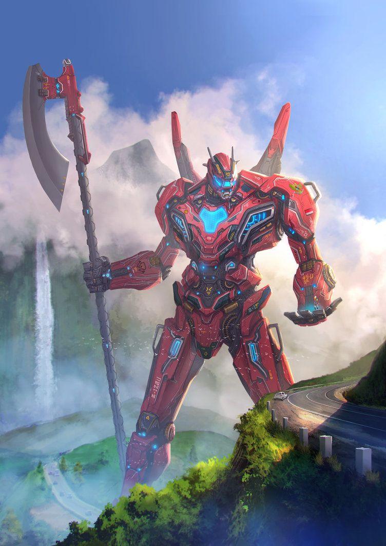 Jaeger Abrit Raksa By Ijul | Oyun Dünyası, Manga Ve Zırh intérieur Abrit