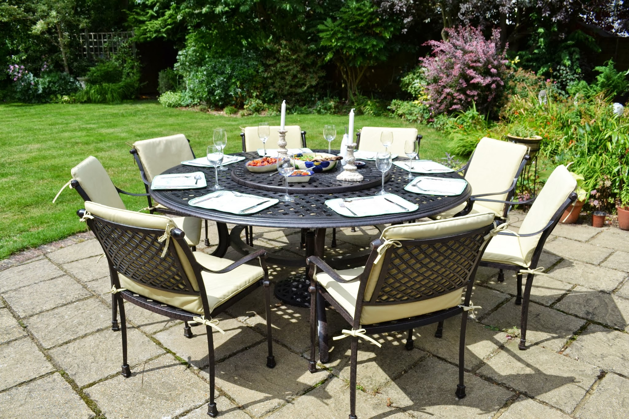 Jardin Table Jardin Tati De Table Tati De R54Laj dedans Banc De Jardin Rond
