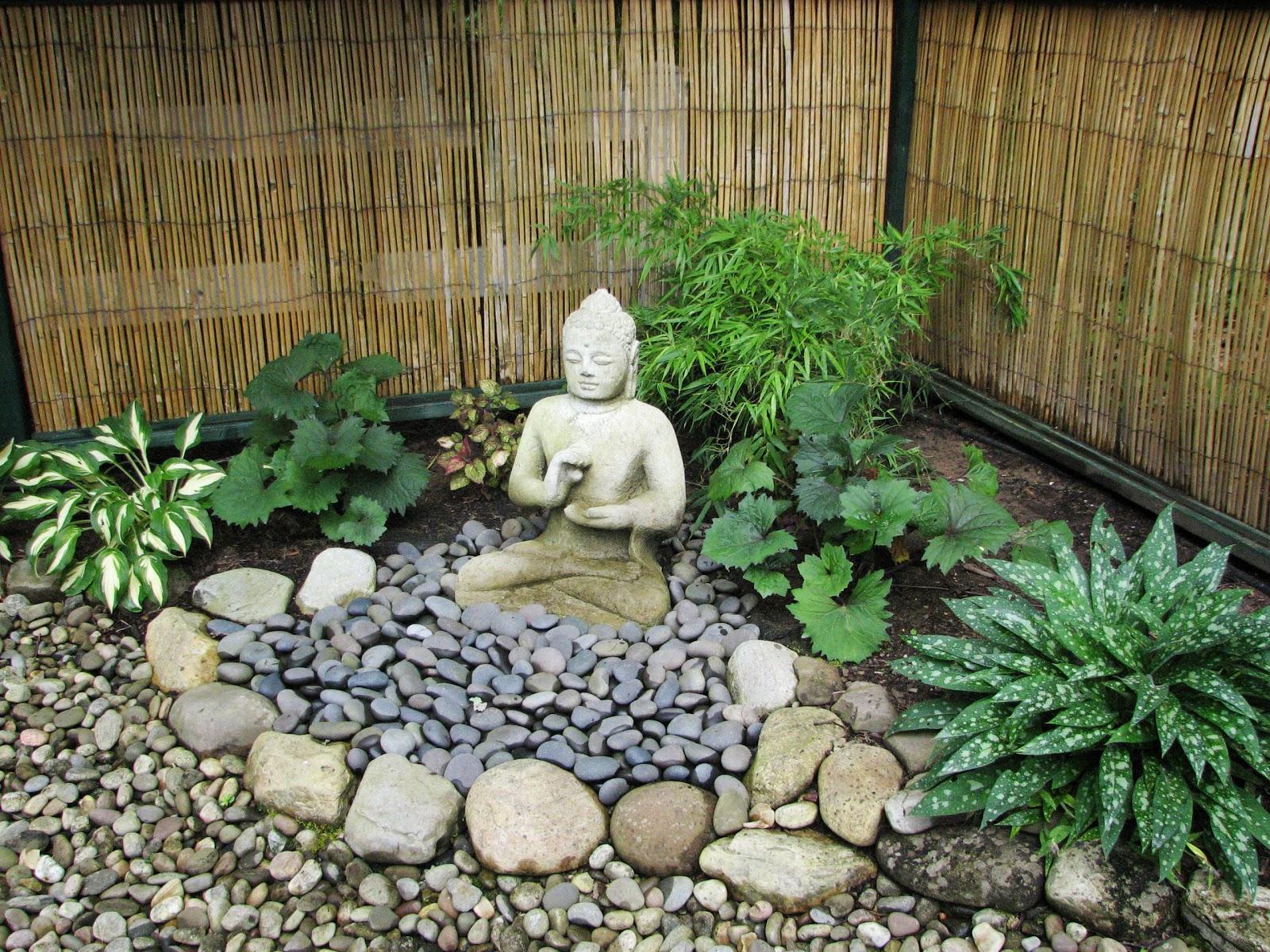 Jardin Zen Avec Bouddha My Zen Garden Lanterns And Landscape ... intérieur Bouddha Deco Jardin