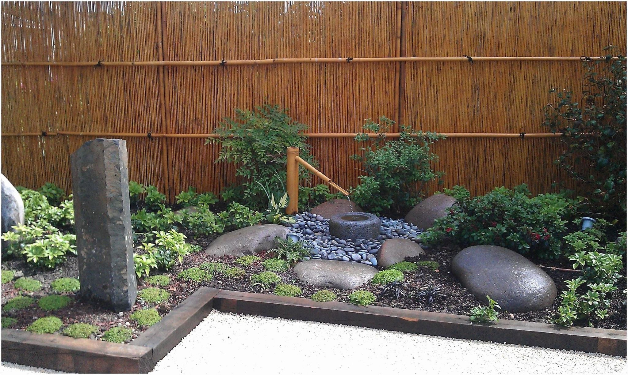 Jardin Zen Exterieur Creer Un Coin Zen Dans Son Jardin Et ... serapportantà Decor Jardin Zen