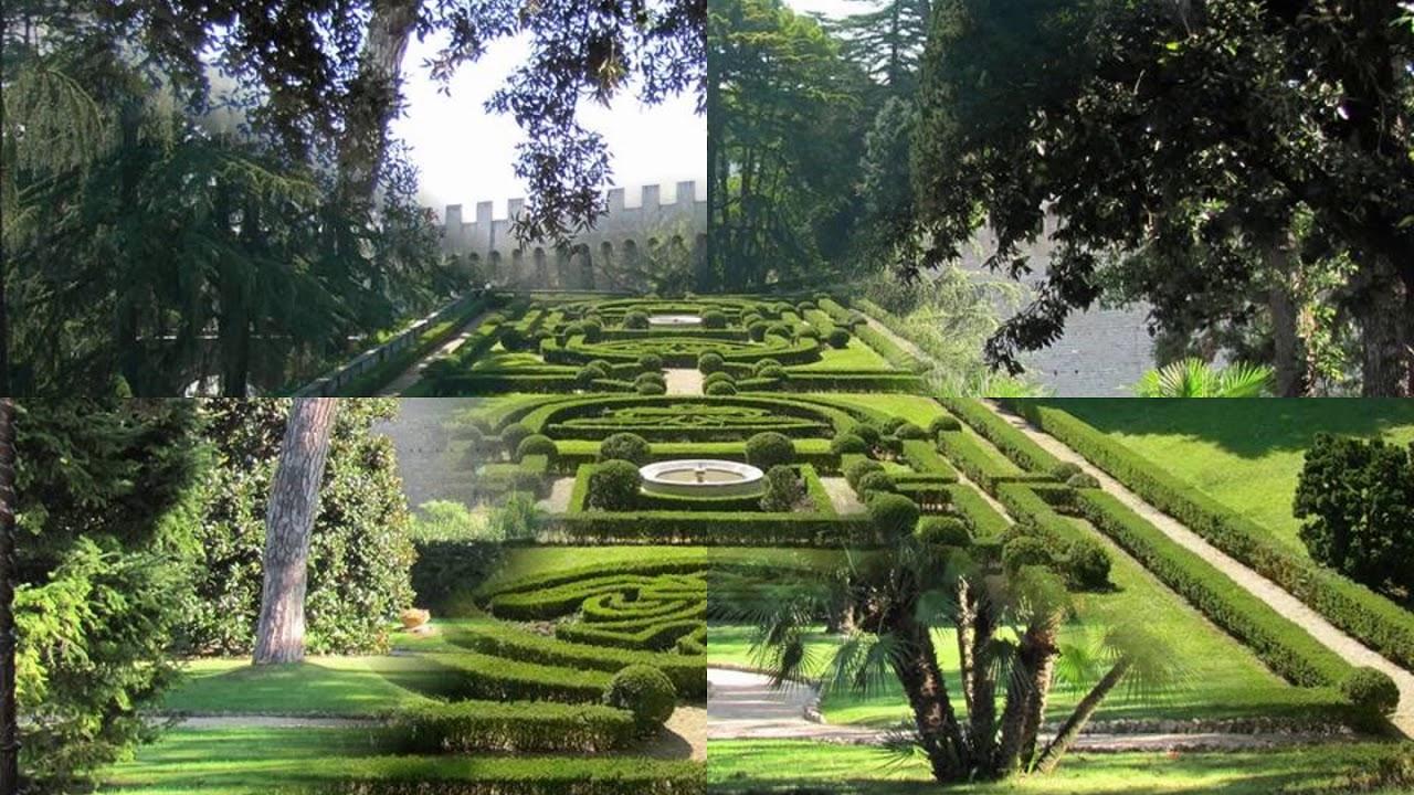 Jardins Du Vatican destiné Jardin Du Vatican