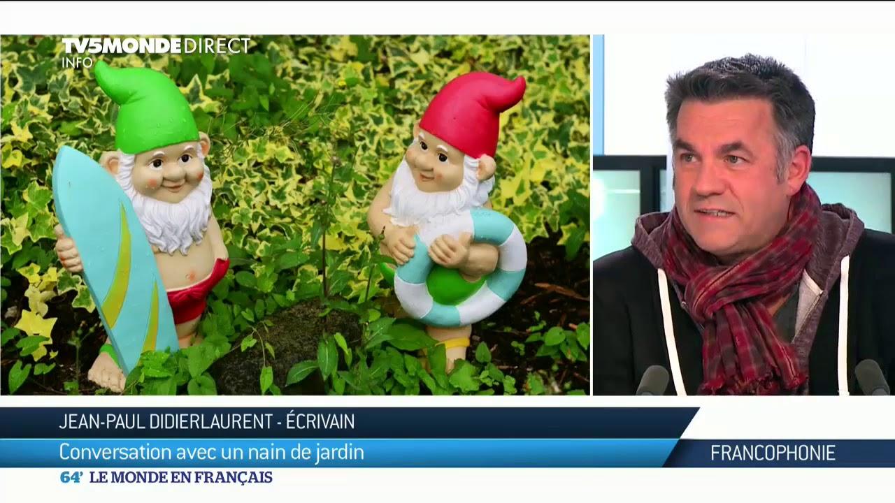 Jean-Paul Didierlaurent : Conversation Avec Un Nain De Jardin encequiconcerne L'histoire Du Nain De Jardin