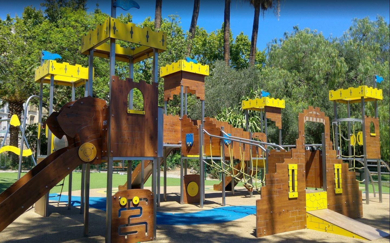 Jeux Du Jardin Denis À Hyères - Hyères Tourisme intérieur Jeux De Jardin Enfant