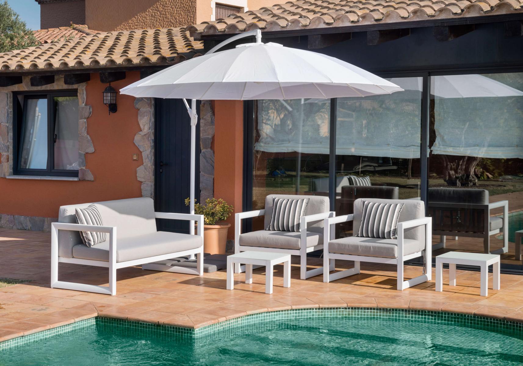 Kiel Set Gold concernant Salon De Jardin Blanc Design