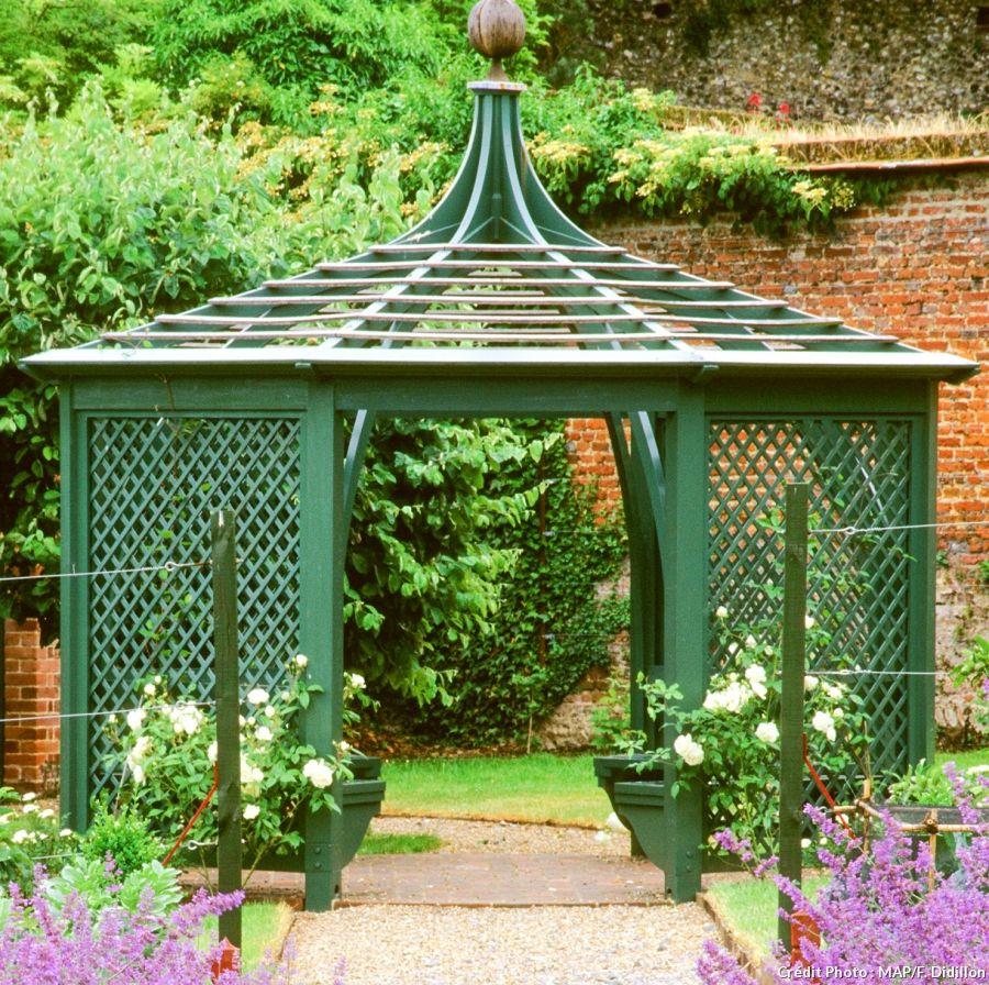 Kiosque De Jardin : 7 Modèles Super Décoratifs | Kiosque ... pour Kiosque Jardin Fer