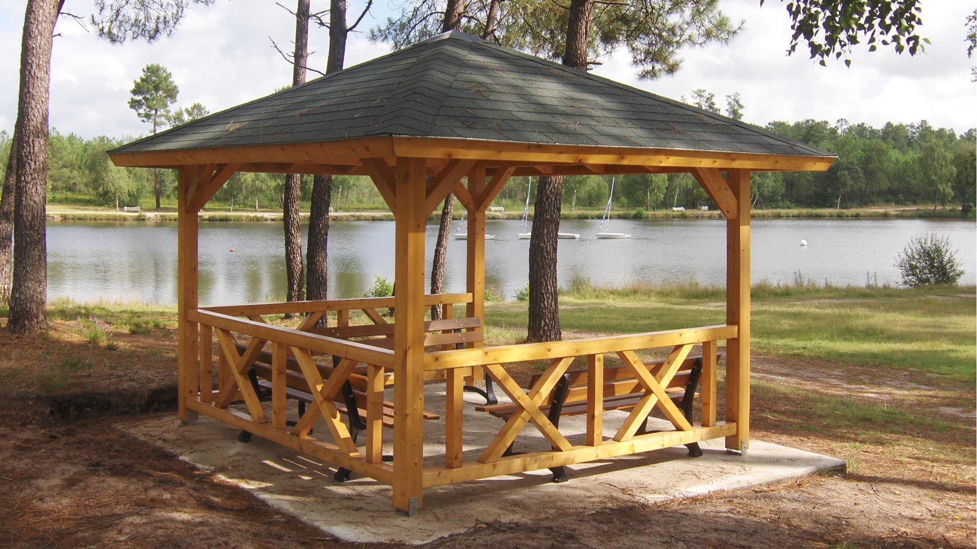 Kiosque De Jardin Royan - Moduland … | Kiosque Jardin ... à Kiosque Jardin Bois