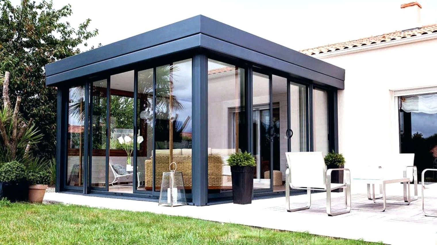 Kit Extension Bois 30M2 | Veranda Bioclimatique, Véranda ... pour Prix Extension Maison 20M2