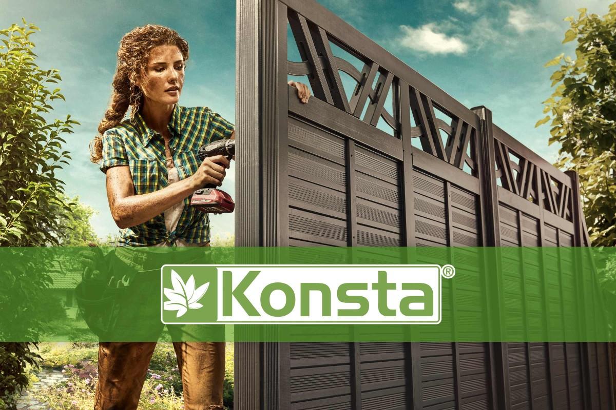 Konsta - La Marque De Clotures De Jardin | Hornbach Suisse pour Hornbach Jardin