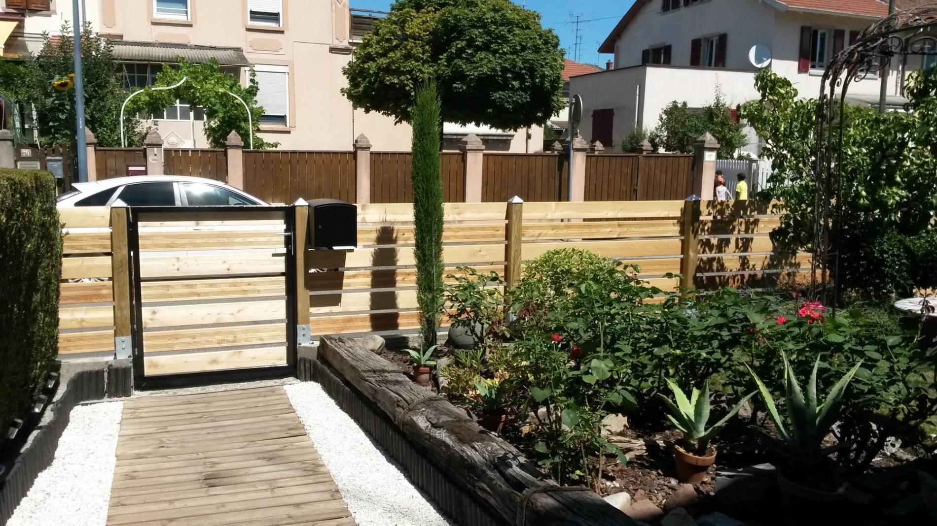 Kretakat encequiconcerne Clotures Jardin Design