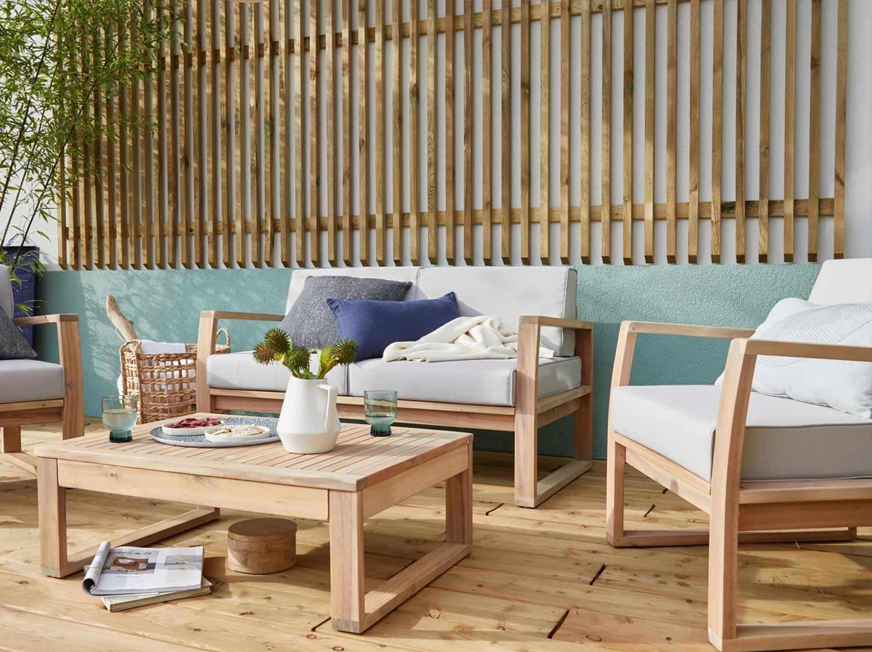 La Nouvelle Collection De Salon De Jardin 2020 | Leroy Merlin concernant Mobilier De Jardin Moderne