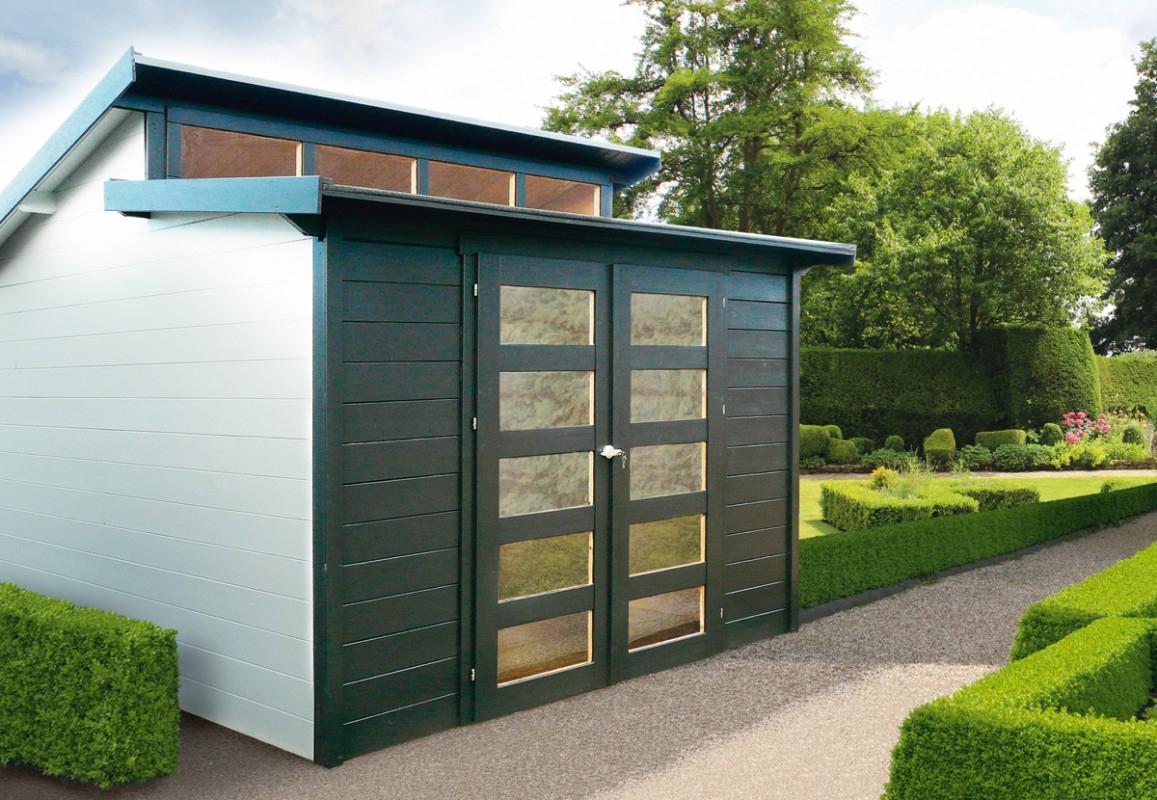 L'abri Design Et Moderne Pour Une Harmonie Naturelle – Blog ... pour Abri Jardin Contemporain
