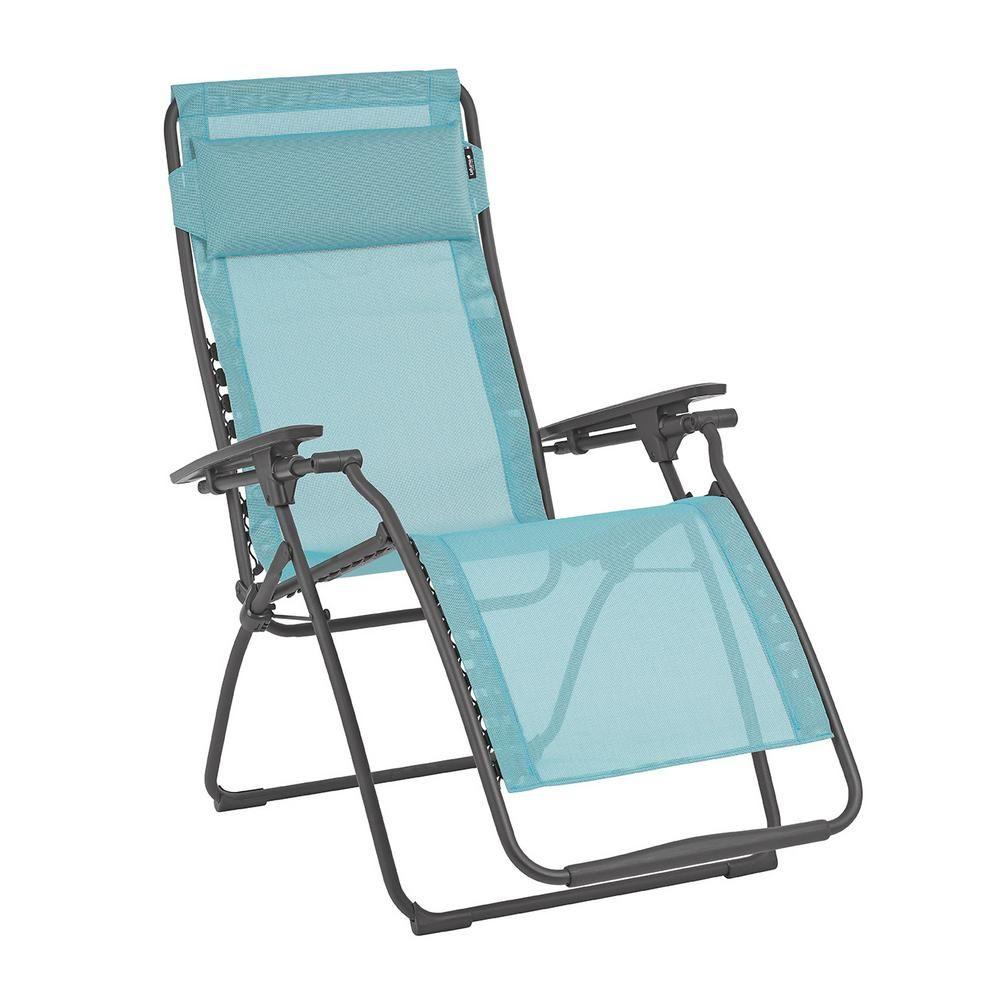 Lafuma Furniture Futura In Lac Color Steel Frame Reclining ... concernant Relax Lafuma