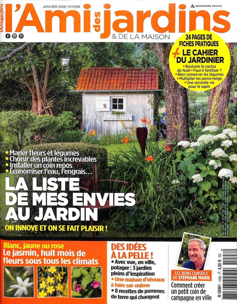 L'ami Des Jardins Et De La Maison avec Ami Des Jardins Magazine