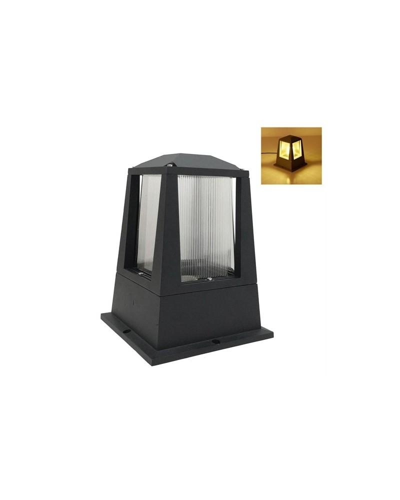 Lampe De Jardin Moderne Pour Extérieur Ip65 Noir Pour Ampoule Led E27 dedans Lampe Pour Jardin Exterieur