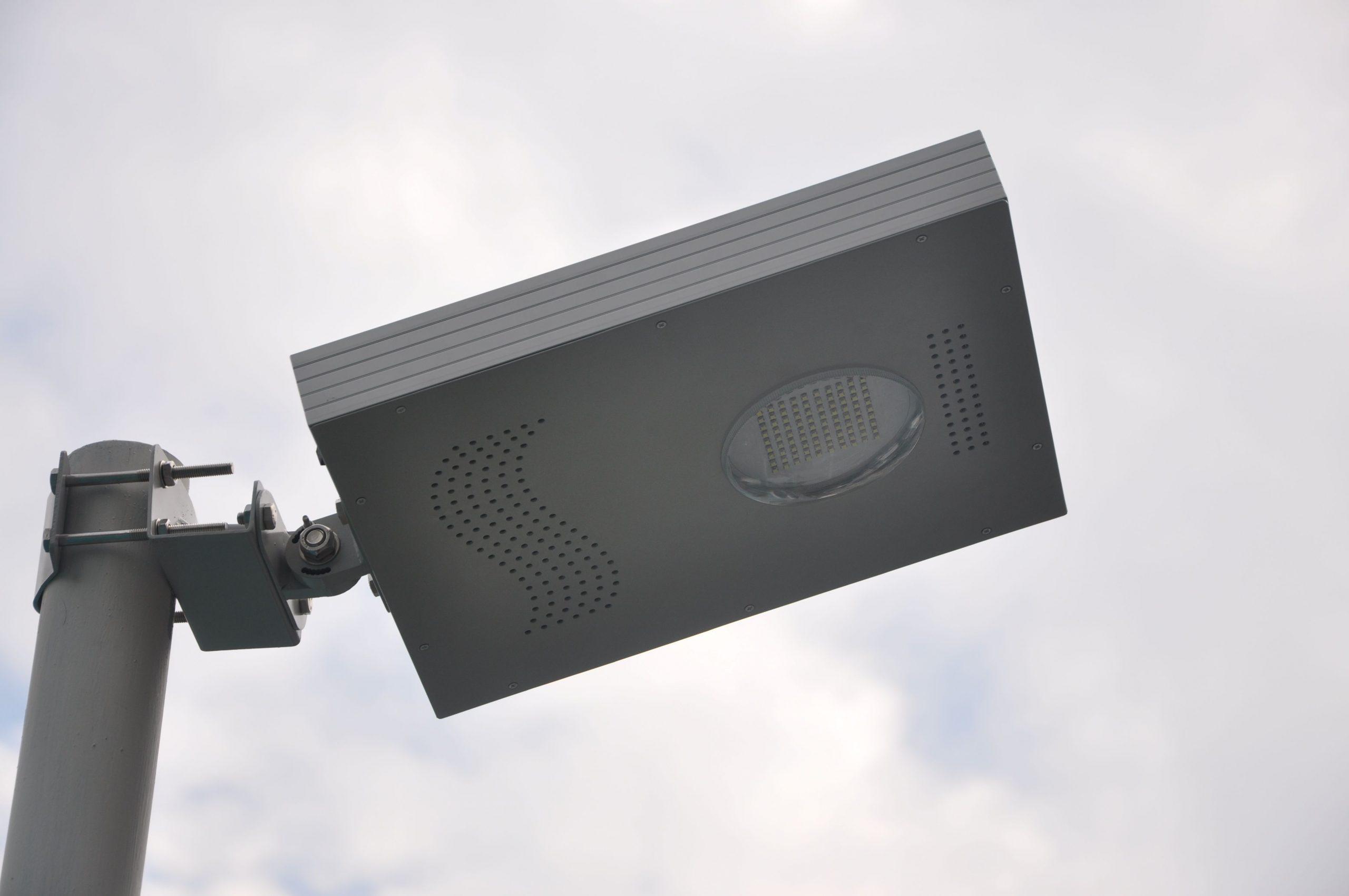 Lampe Projecteur Solaire Puissant Zs-A04- Lampadaire Solaire   Objetsolaire dedans Lampe Solaire Jardin Puissante