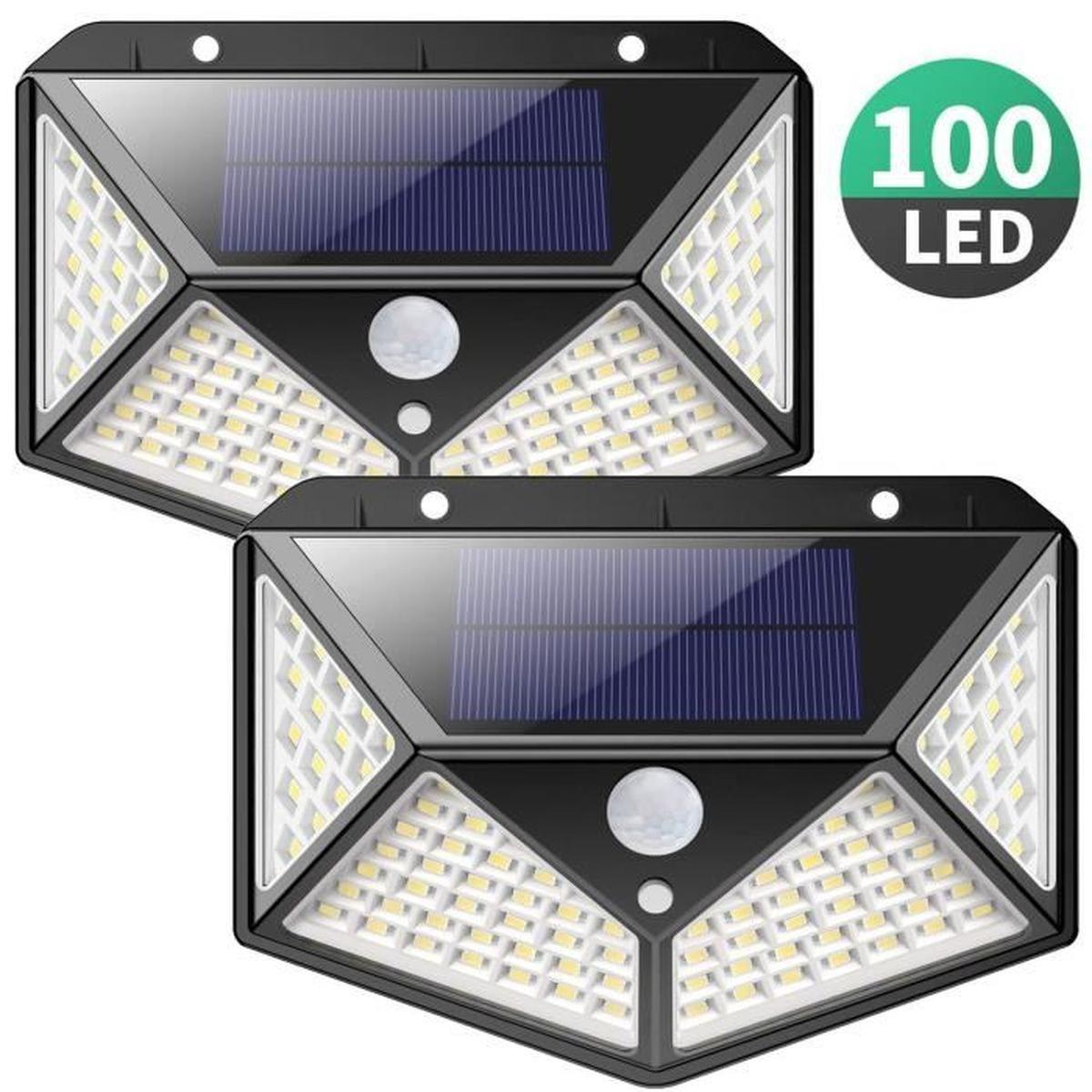 Lampe Solaire 100 Lumens destiné Lampe Solaire Jardin Puissante