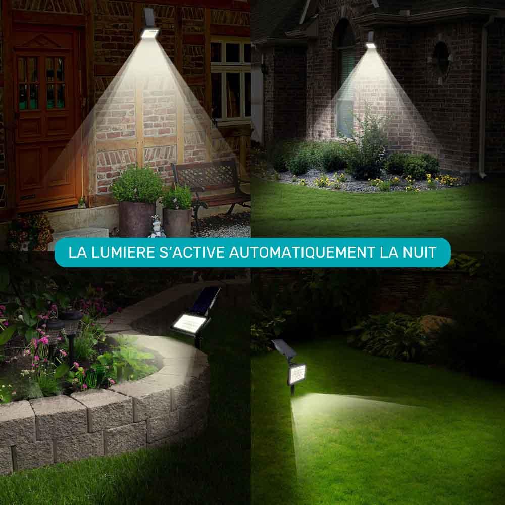 Lampe Solaire Jardin À Planter - Luminaire Solaire encequiconcerne Lampe Solaire Jardin Puissante
