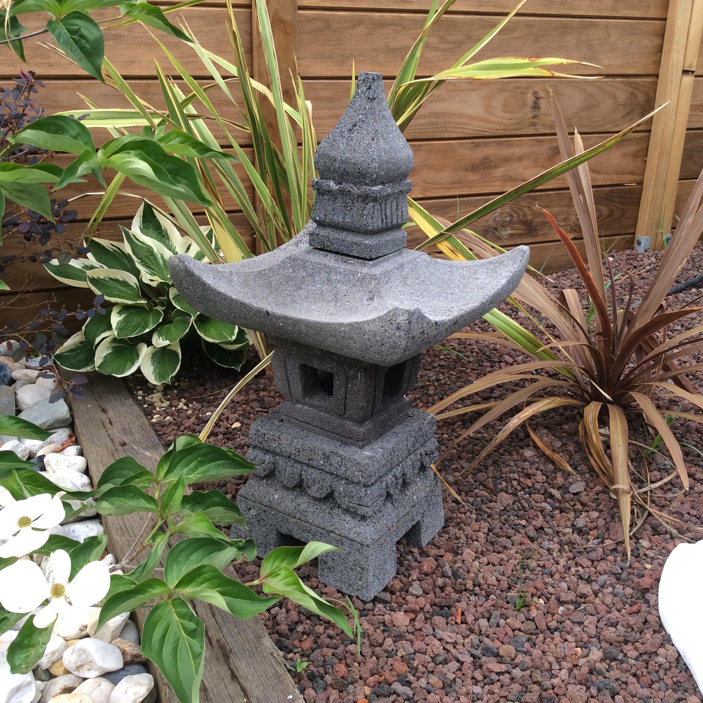 Lanterne Japonaise Jardin D'occasion à Lanterne Japonaise De Jardin