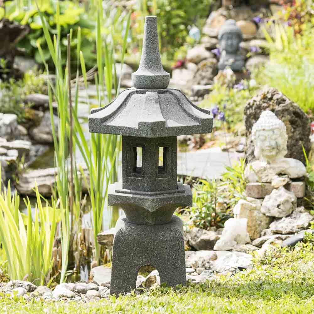 Lanterne Japonaise Jardin Zen Eclairage Jardin Lanterne ... serapportantà Lanterne Japonaise Pas Cher