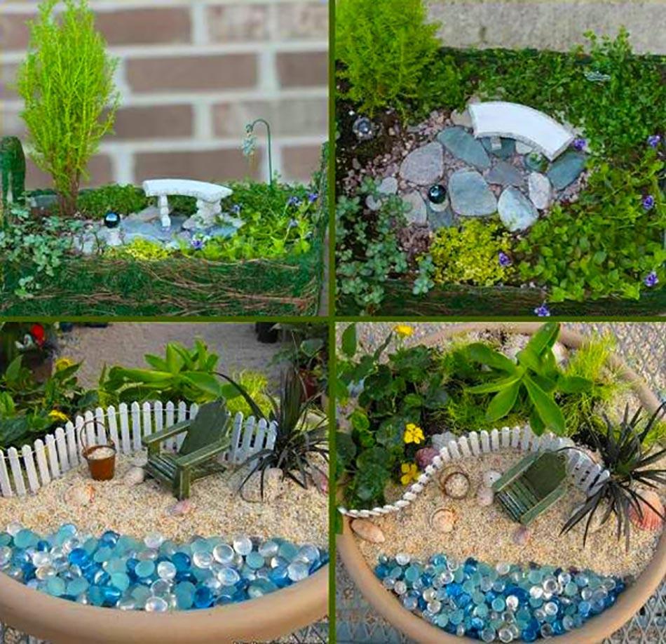 L'art Du Mini Jardin Coquet concernant Mini Jardin Interieur
