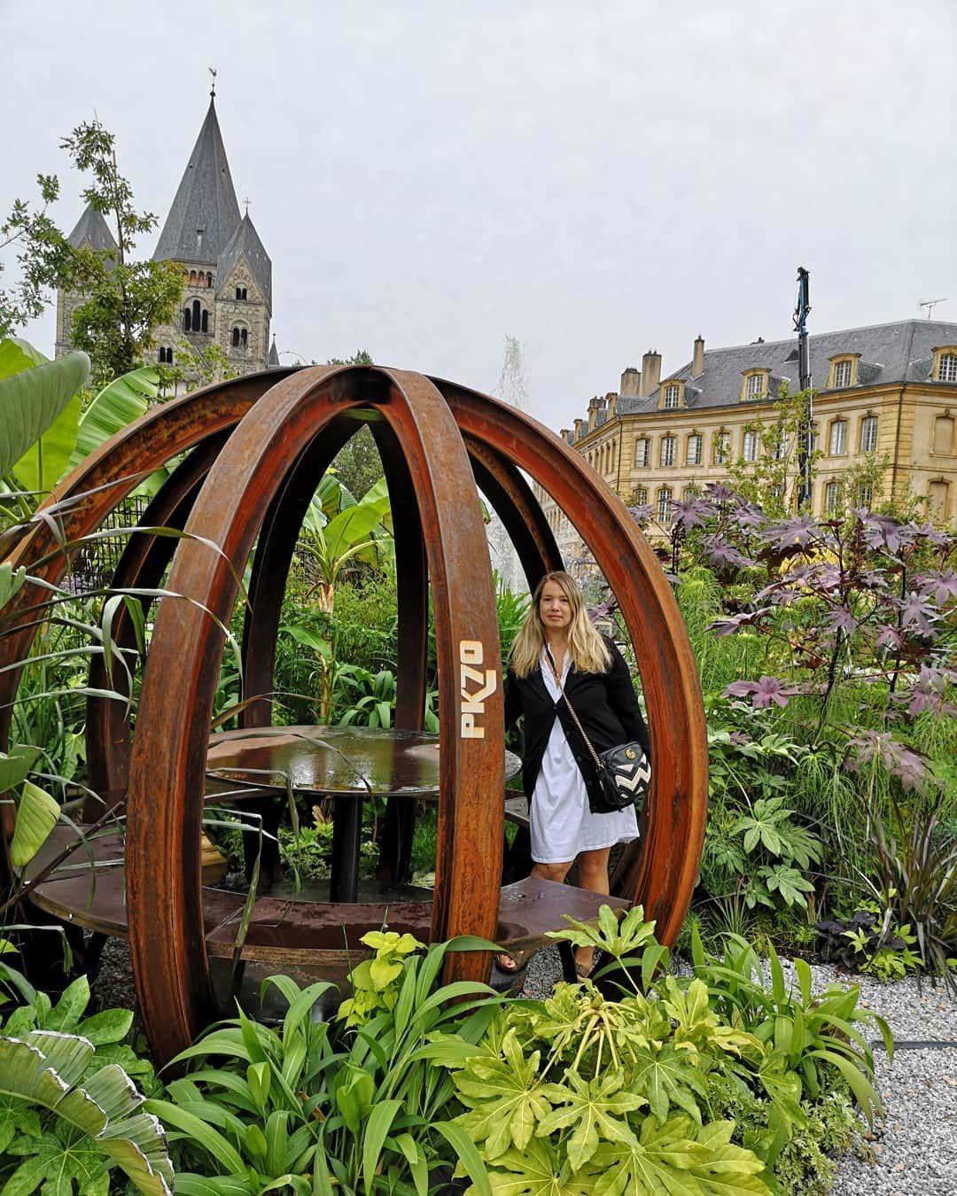 Le Jardin Éphémère De Metz🌿💚🌿💚🌿💚🌿💚 Installé À L ... tout Jardin Occasion