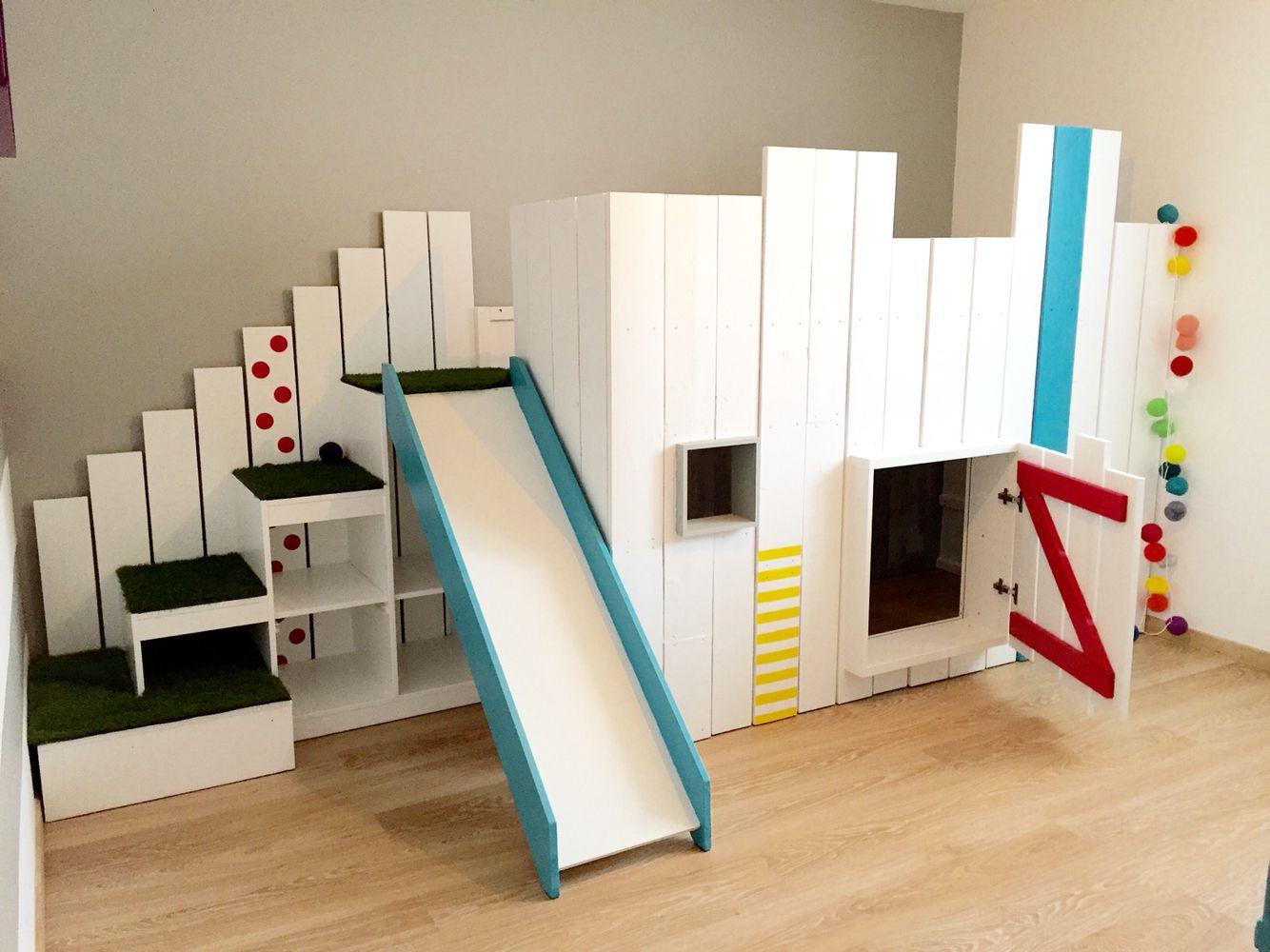 Le Lit #kura De Chez #ikea En Version Lit/cabane. Detourné ... concernant Lit Cabane Ikea