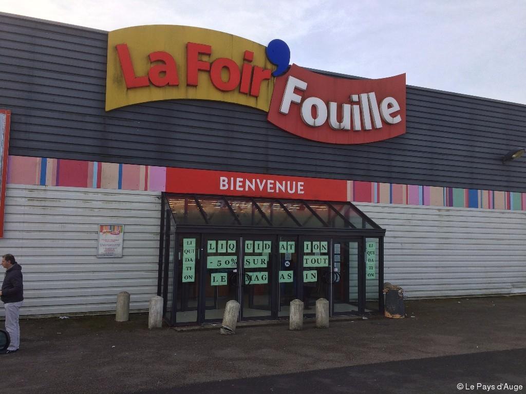 Le Magasin La Foir'fouille De Lisieux Va Fermer | Le Pays D'auge pour Foir Fouille
