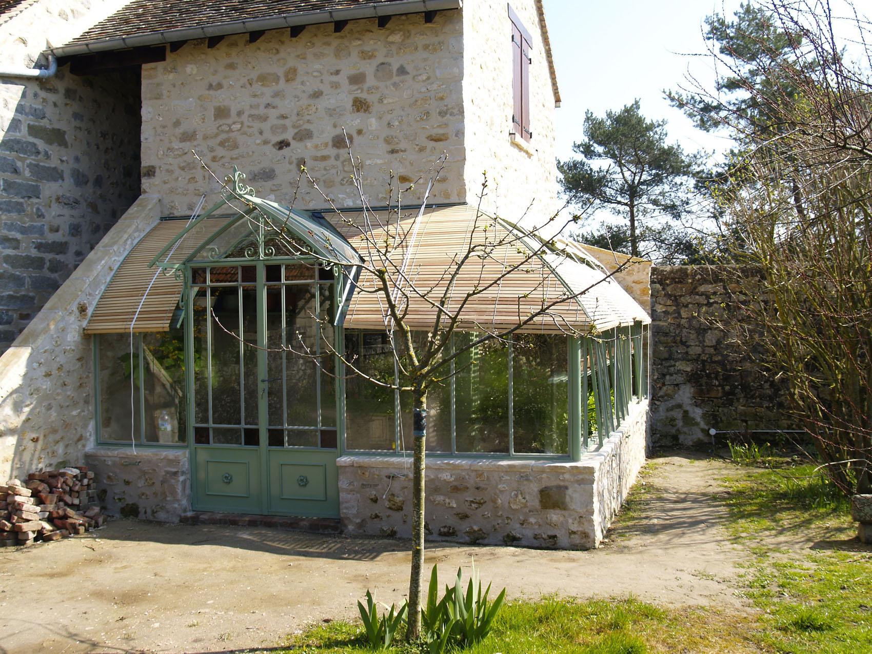 Lean-To Greenhouses | Serres Et Ferronneries D'antan dedans Serre Adosse