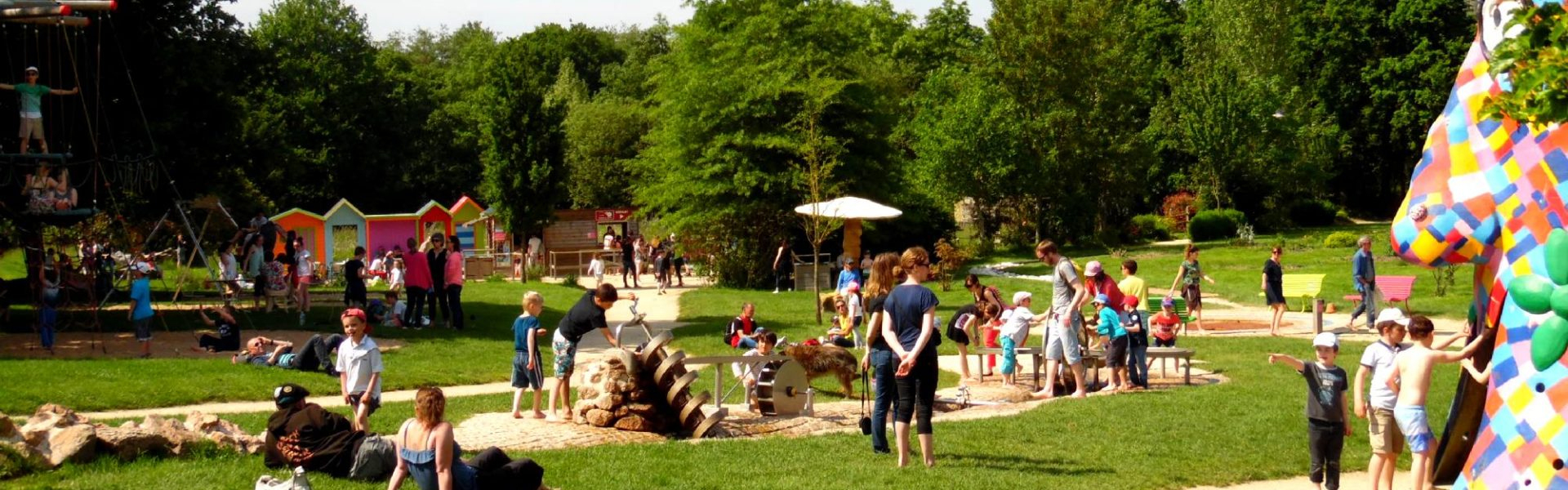 Les Aires De Jeux | Jardins De Brocéliande dedans Jeux De Jardin Enfant
