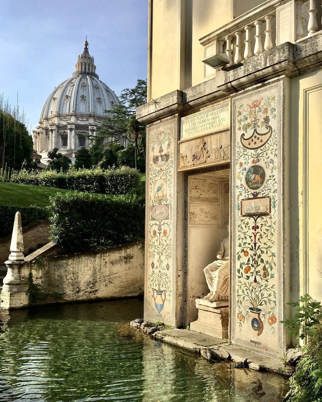 Les Jardins Du Vatican | Italie, Jardins avec Jardin Du Vatican