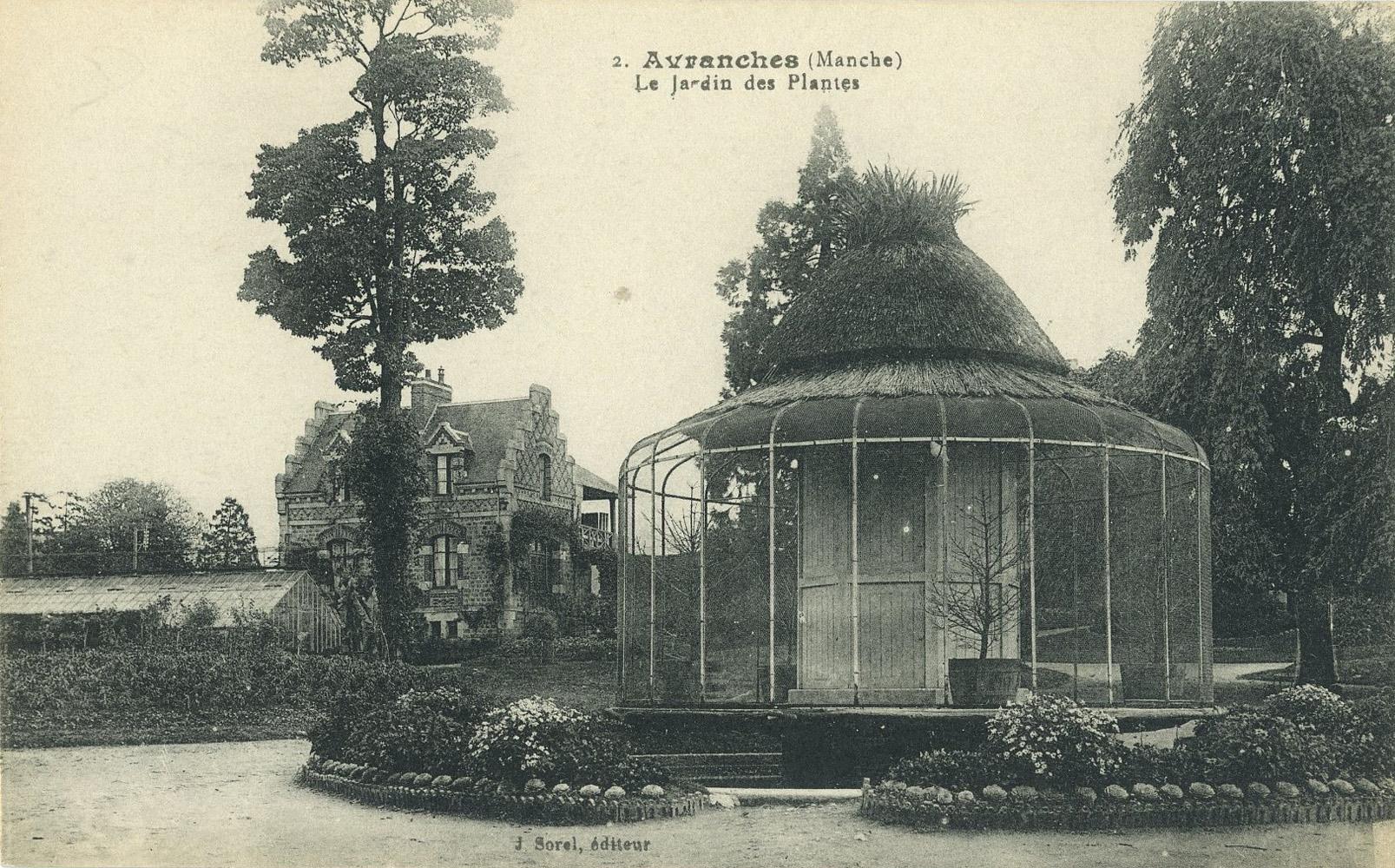 Les Zoos Dans Le Monde - Jardin Des Plantes D'avranches † destiné Jardin Des Plantes Avranches