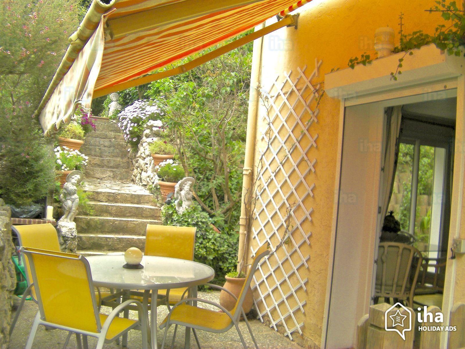 Location Appartement De 4 À 5 Personnes Avec 2 Chambres à Location Rez De Jardin Antibes