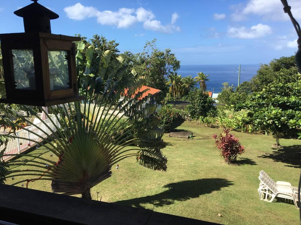 Location Chalet Bouillante 14 Personnes Chalets Sous-Le-Vent ... dedans Le Jardin Tropical Bouillante
