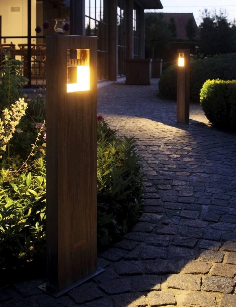 Luminaire Extérieur Design – 30 Lampes De Jardin Modernes ... tout Lampe Pour Jardin Exterieur
