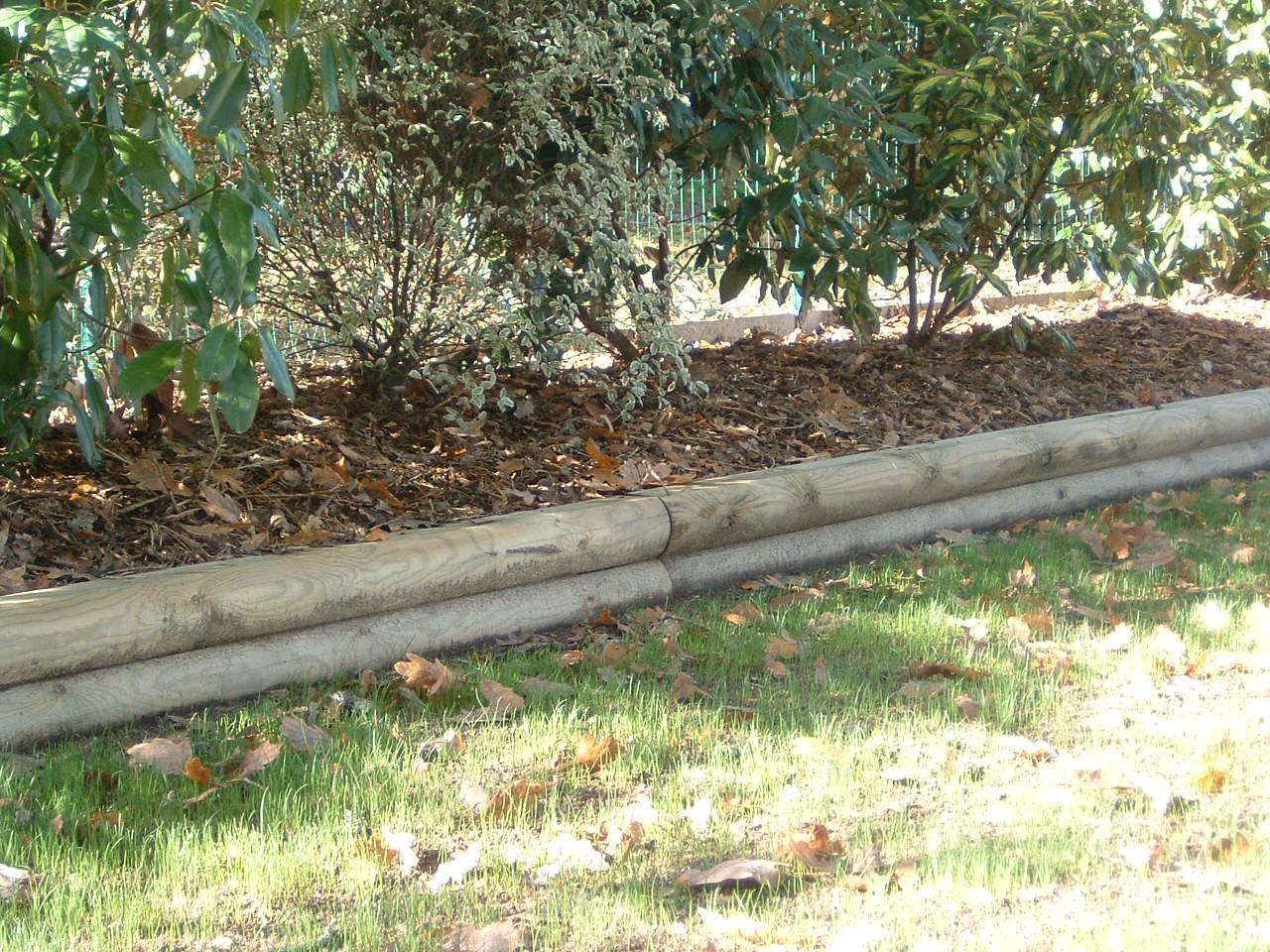 Maçonnerie Paysagère - Reflets Nature- Paysagiste Penestin - 56 encequiconcerne Bordure Rondin Bois