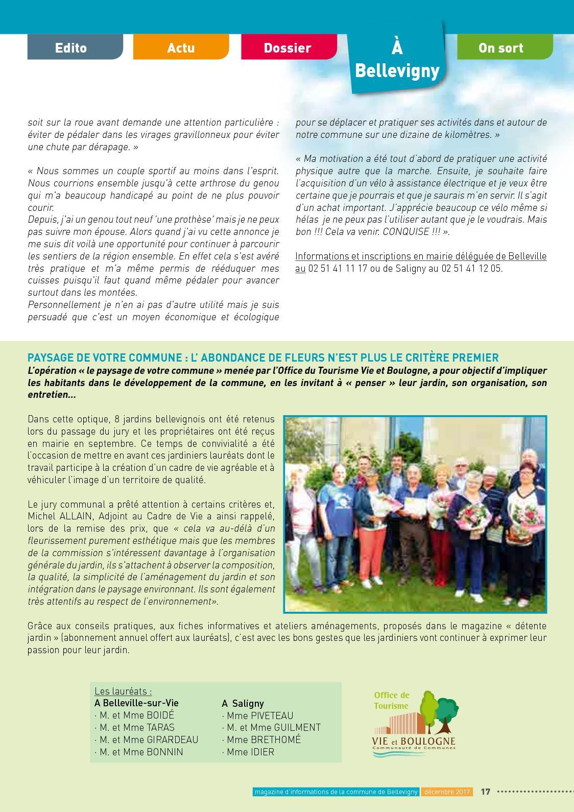 Magazine Décembre 2017 - Calameo Downloader à Abonnement Détente Jardin