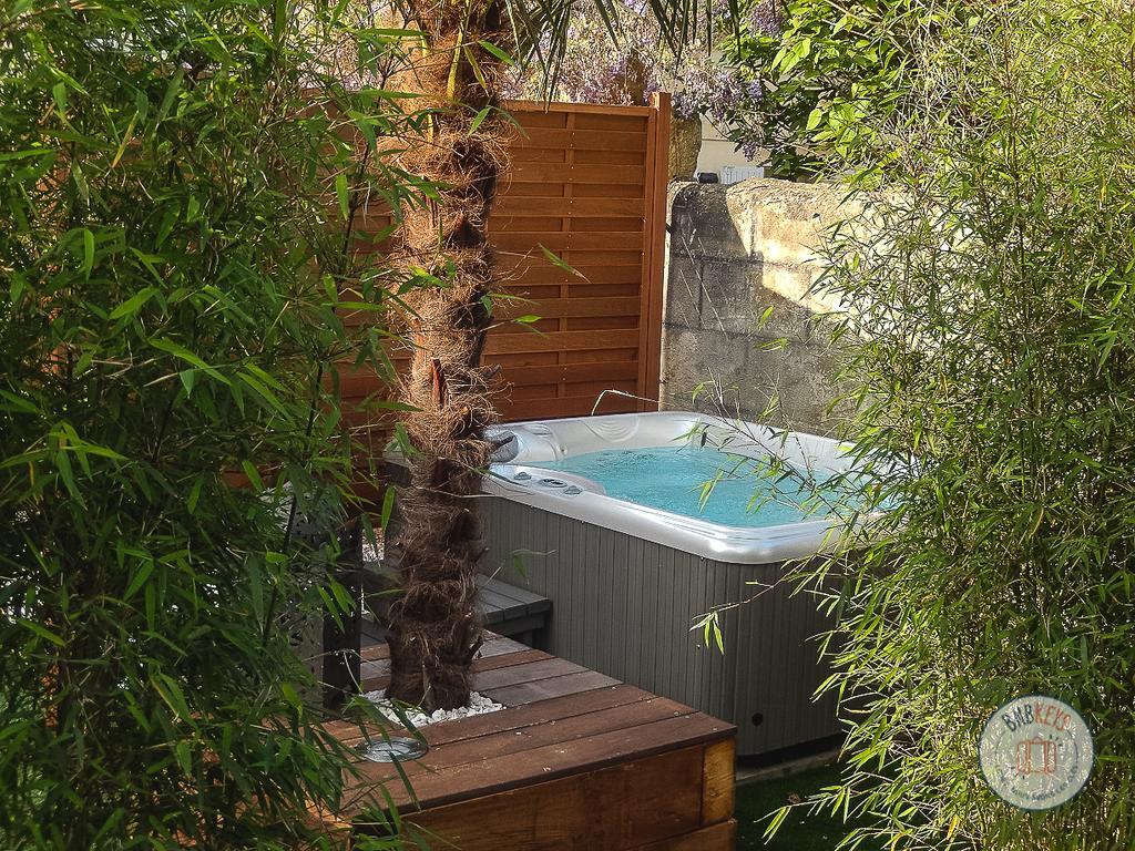 Maison De Ville À Bordeaux Avec Jardin Et Jacuzzi, Maison De ... destiné Jacuzzi Pour Jardin