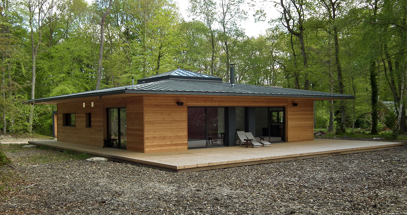 Maison En Bois En Kit Roumanie - Le Meilleur Des Maisons ... à Chalet Bois En Kit