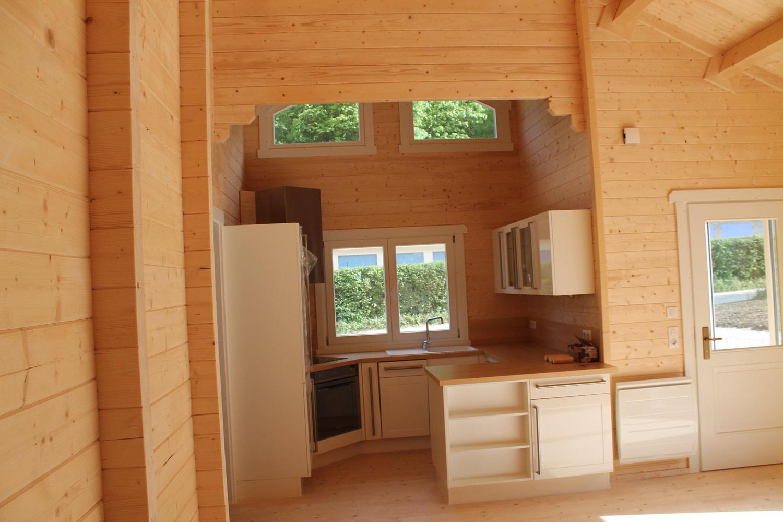 Mandarine 710 | Chalet En Bois intérieur Chalet 20M2 Habitable