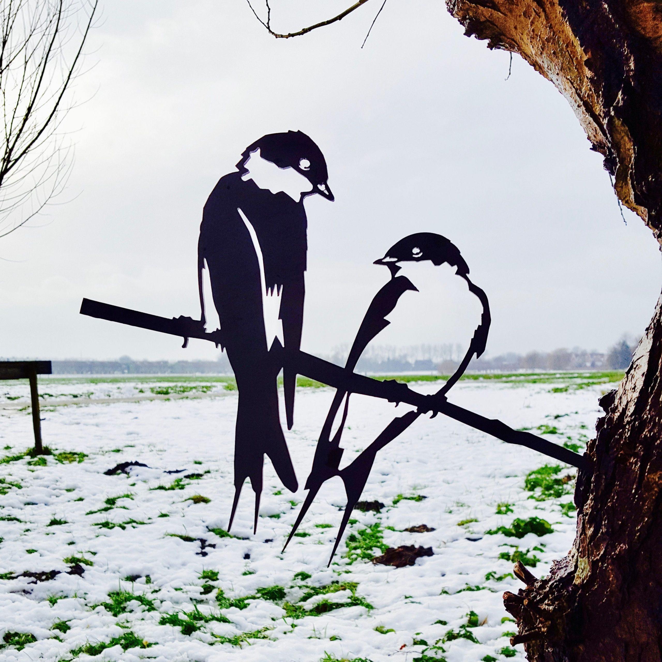 Metalbird Hirondelles   Projets D'art En Métal, Décorations ... destiné Girouette Jardin Deco