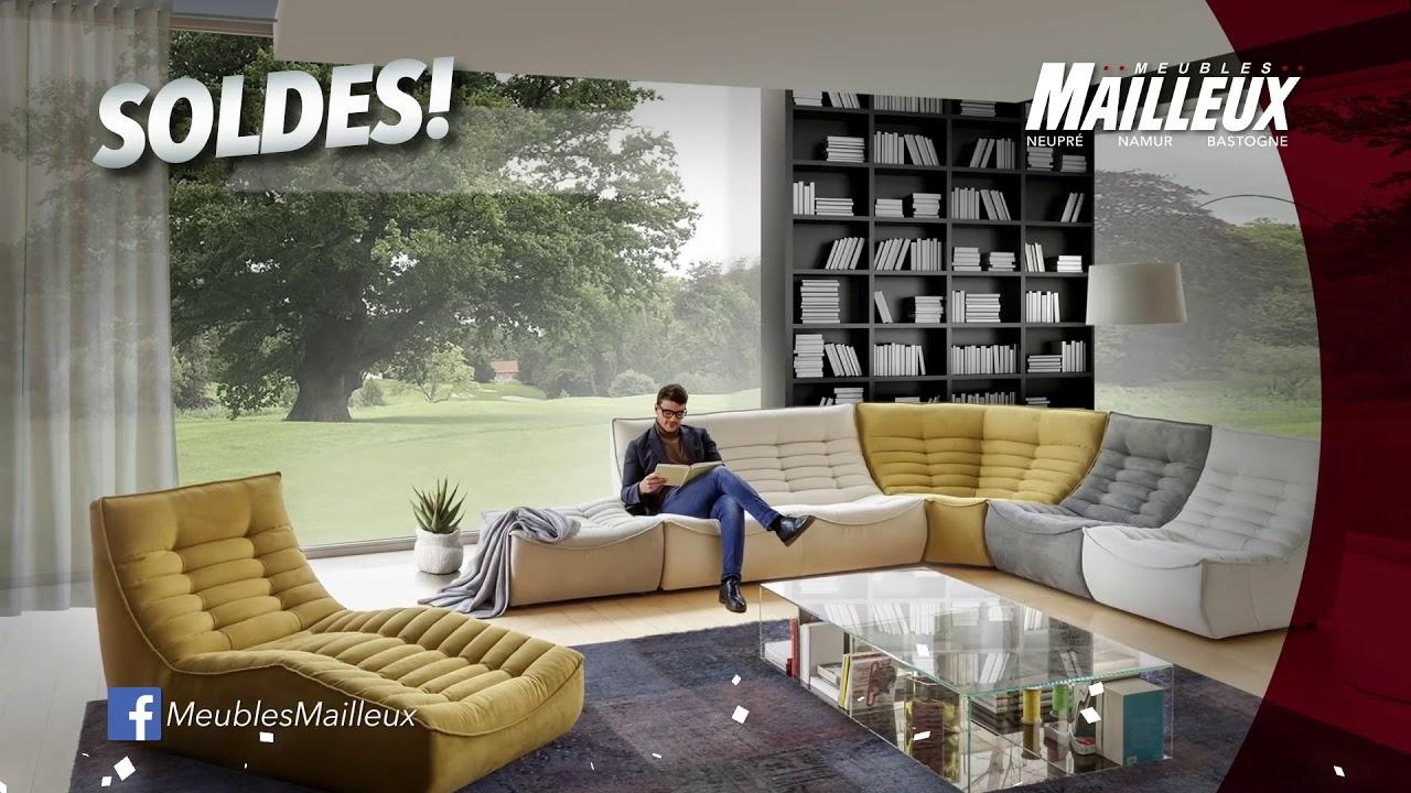 Meubles Mailleux - Soldes Monstres 2019 - Salon Canapé Fauteuils Relax pour Destockage Salon
