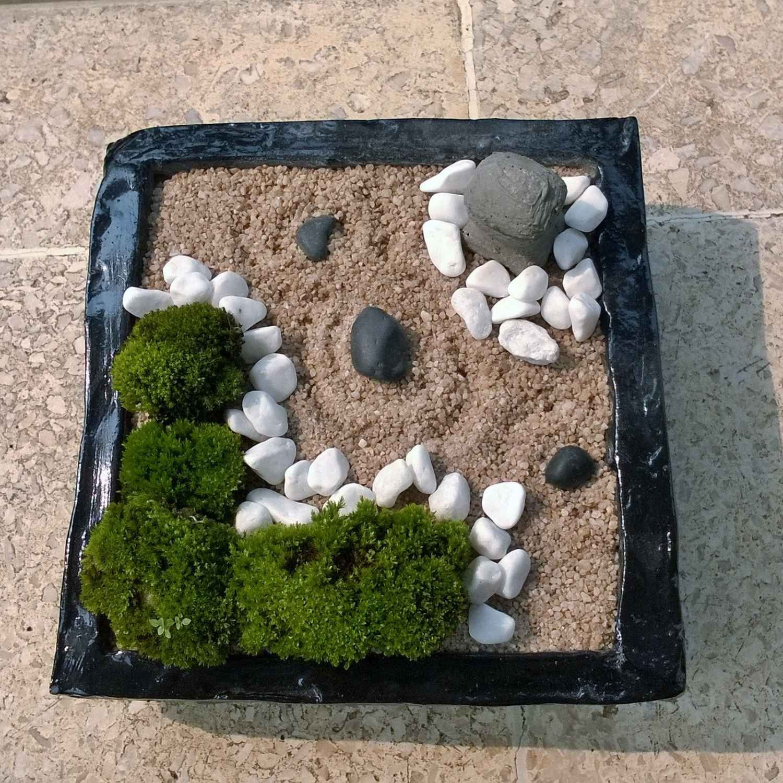 Mini Jardin Zen Idées Pour Apporter De La Tranquillité Dans ... pour Mini Jardin Interieur