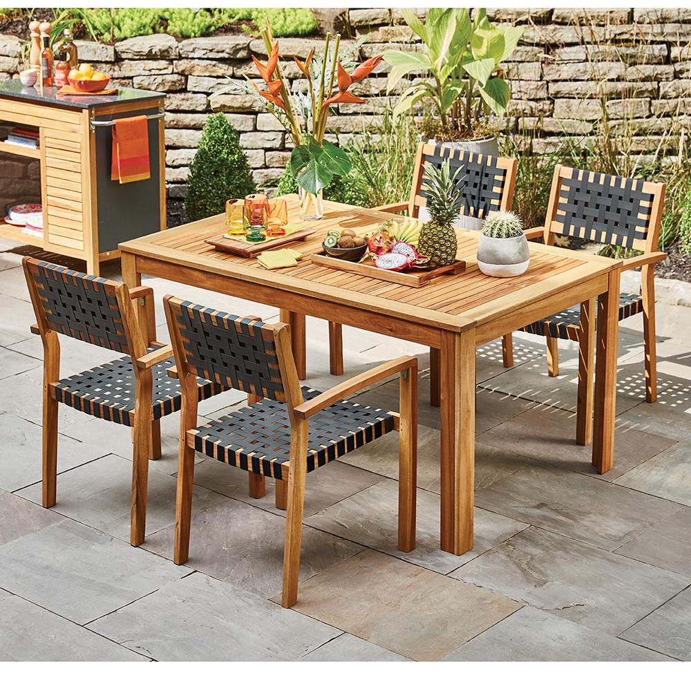 Mobilier De Jardin: Tables, Fauteuils Et Foyers Pour La ... avec Mobiler De Jardin