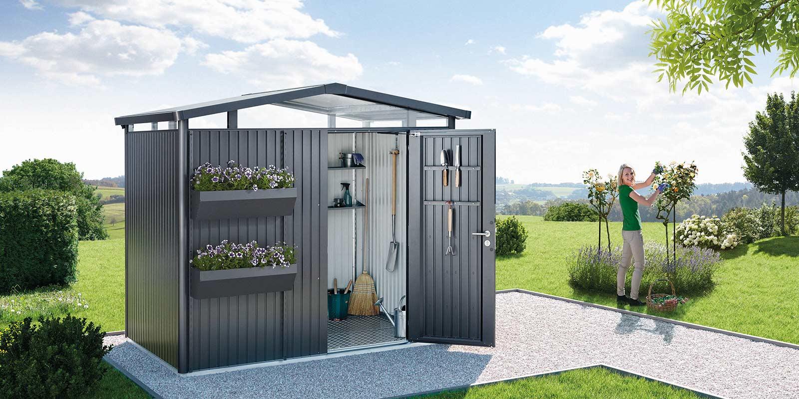 Modern Garden Sheds From Austria - Biohort destiné Biohort