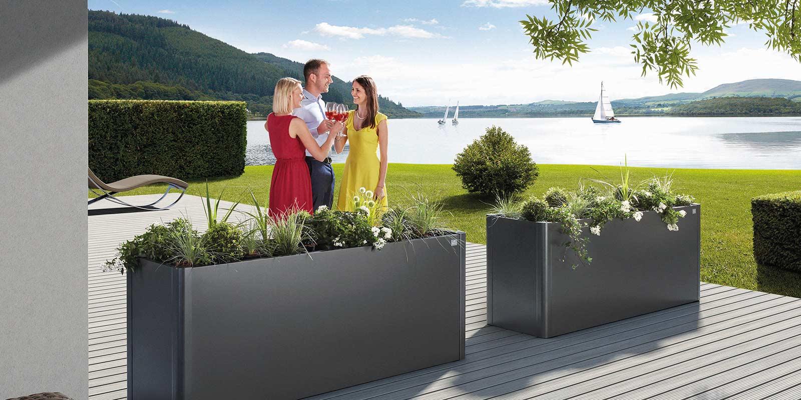 Modern Garden Sheds From Austria - Biohort serapportantà Biohort