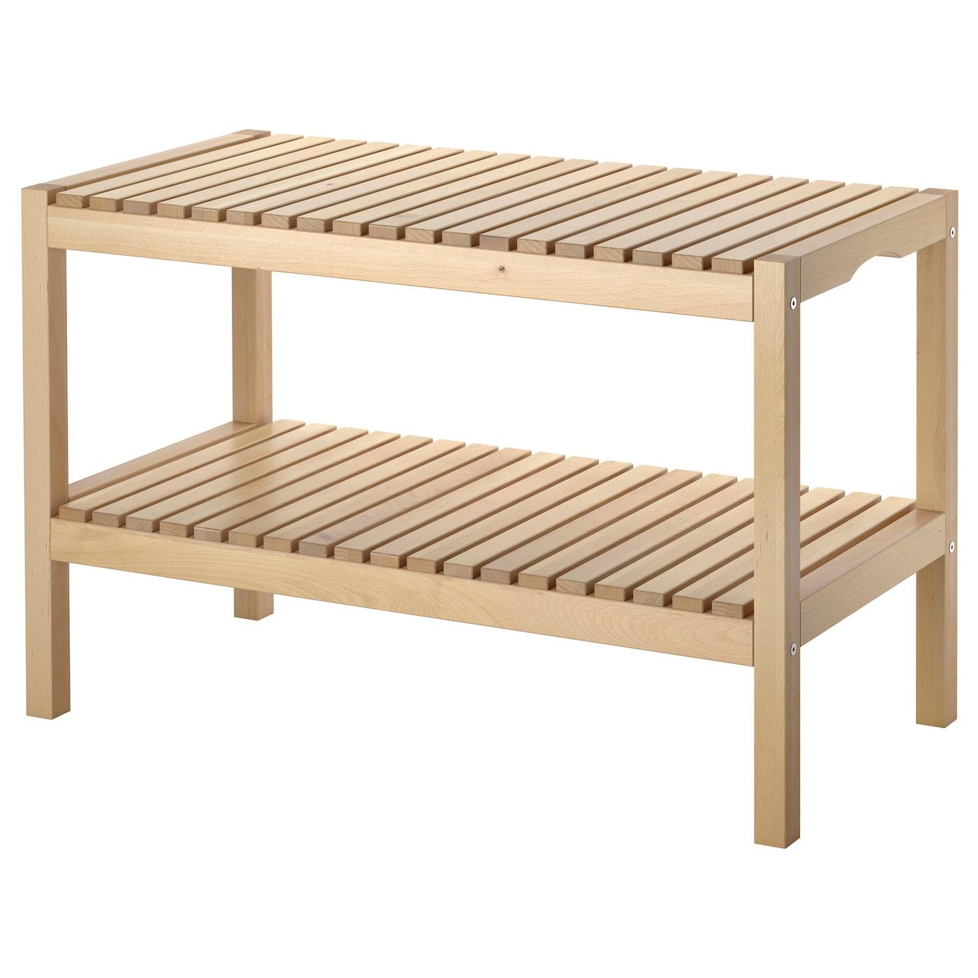 Molger Bench - Birch tout Banc Ikea