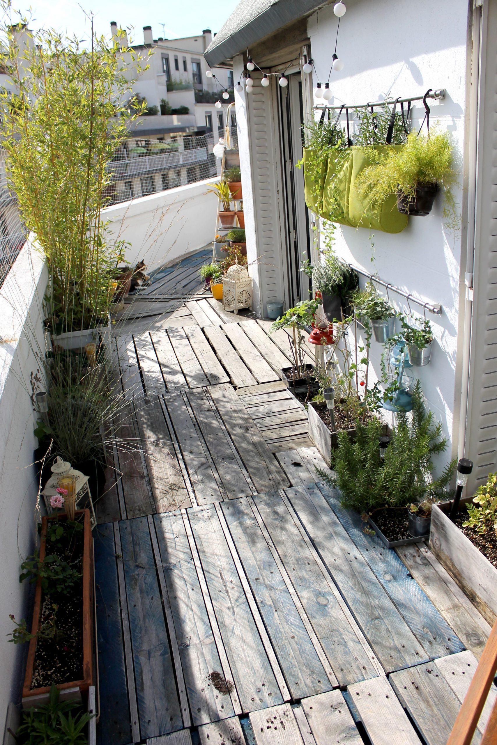 Mon Coin De Verdure Parisien | Balcon Extérieur, Terrasse ... avec Un Jardin Sur Mon Balcon