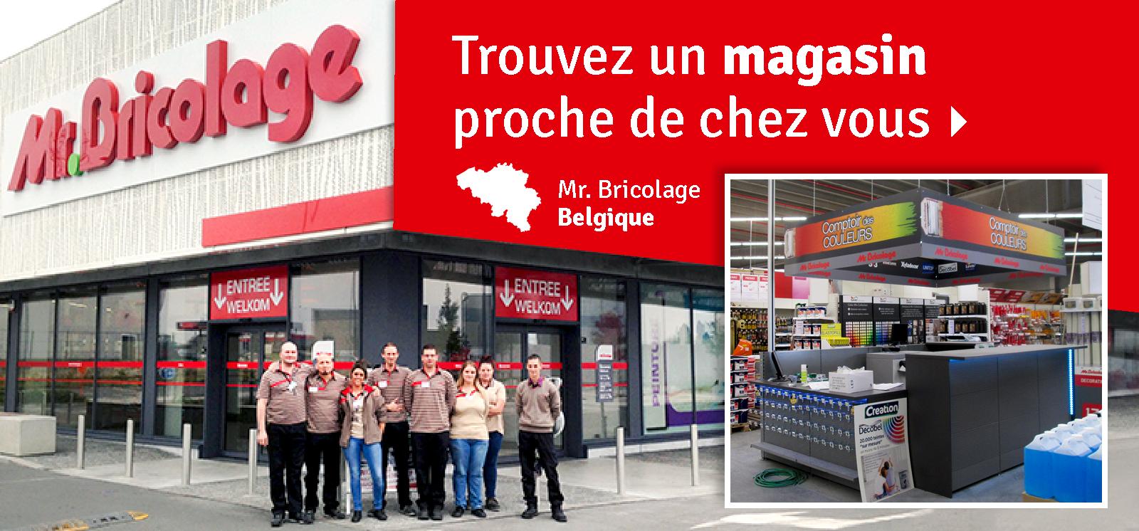 Mr.bricolage Belgique   Magasins Et E-Shop dedans Mr Bricolage Belgique