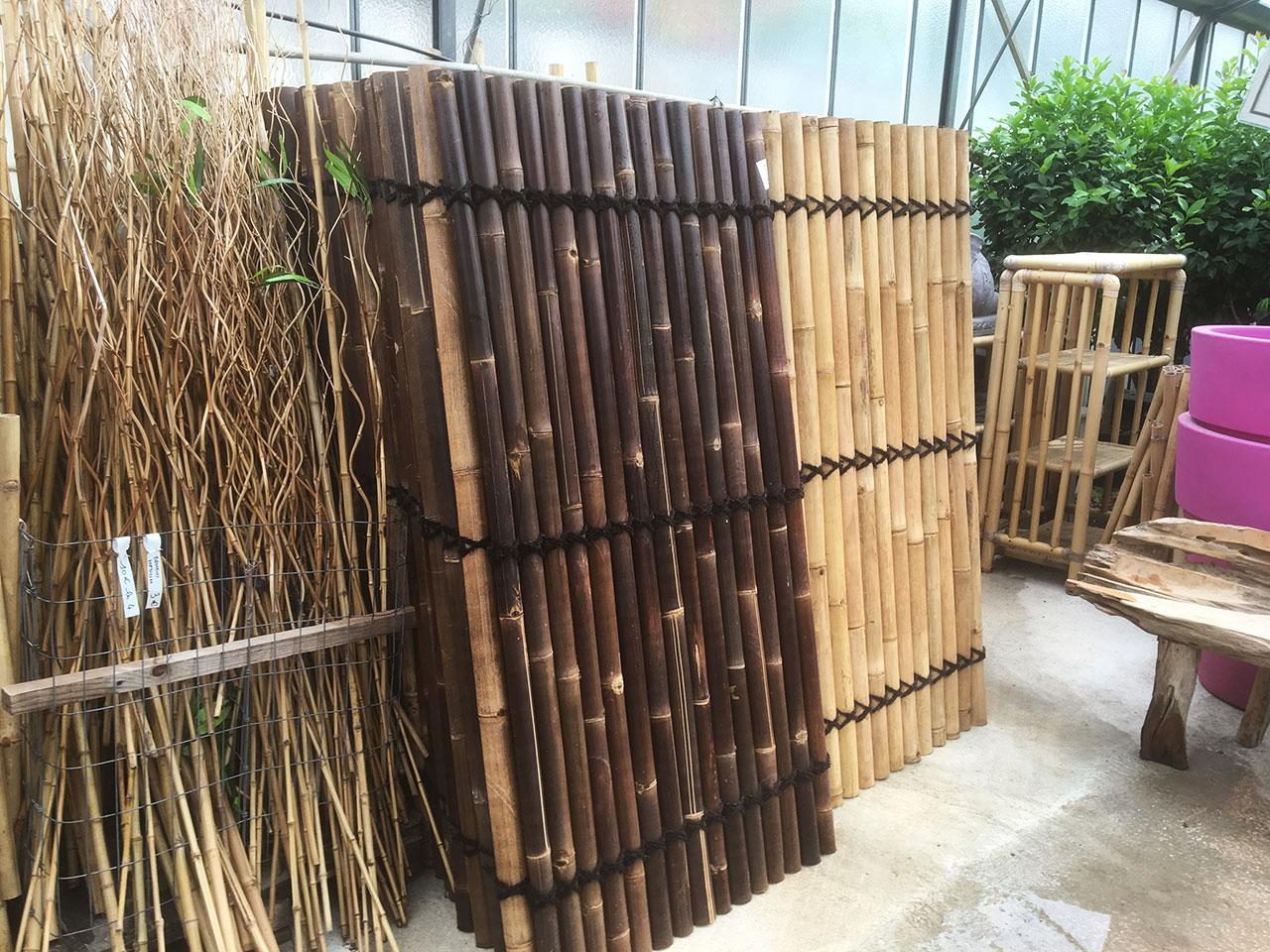 Mur En Bambou - Dewi - L'esprit Jardin tout Deco Jardin Bambou
