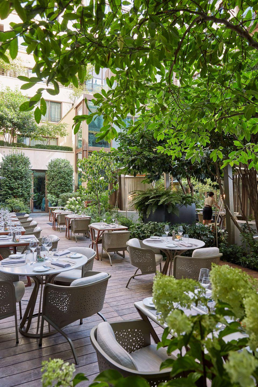 Notre Top 15 Des Terrasses Et Jardins D'hôtel De Luxe À ... intérieur Terrasses Et Jardins Paris
